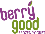 Logo - Berrygood, FROZEN YOGURT